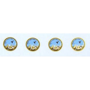 Försökscentralen FC badge x 4 st