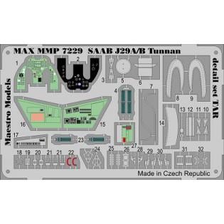 SAAB J29A/B Tunnan detail set for Tarangus