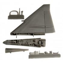 Fin fold set for SAAB JA37 Viggen (TAR)