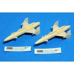 Rb04E attack missiles for AJ37 Viggen